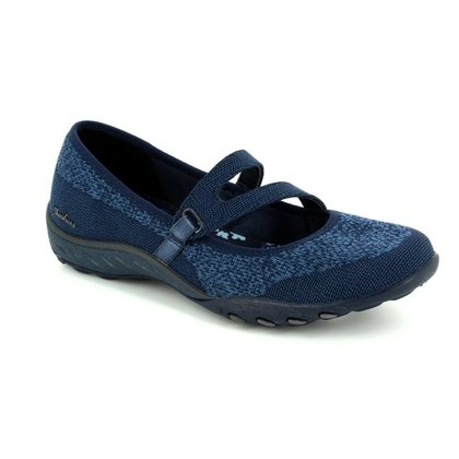 Skechers Trainers - Navy - 23005 LUCKY LADY RELAXED