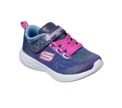 Skechers Girls Trainers - Navy - 302031N GO RUN 600 INF