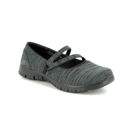 Skechers Mary Jane Shoes - Black - 23469 MAKE IT COUNT