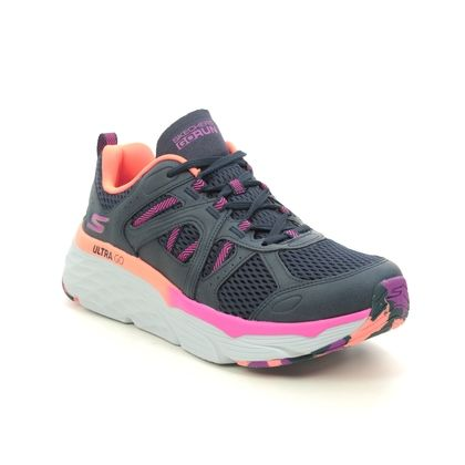 Skechers Trainers - Navy Pink - 128137 MAX ELITE WIND