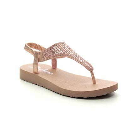 Skechers Flat Sandals - Rose gold - 31560 MEDITATION ROCK CROWN