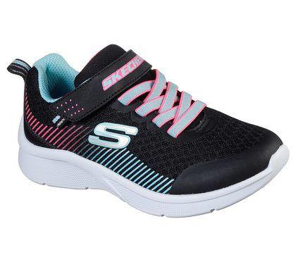 Skechers Girls Trainers - Black - 302016N MICROSPEC