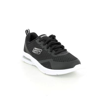 Skechers Boys Trainers - Black - 403774L MICROSPEC LACE