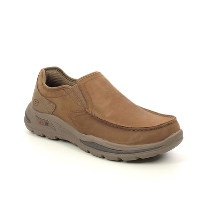Skechers Slip-on Shoes - Desert Leather - 204184 MOTLEY ARCH FIT