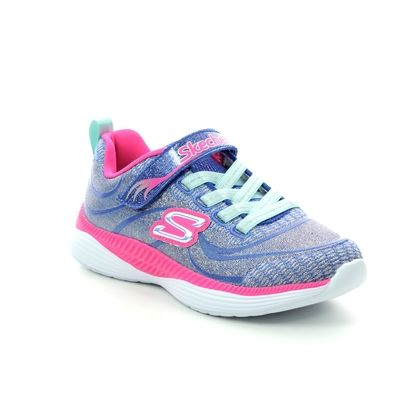 Skechers Girls Trainers - Blue-pink - 83015 MOVE N GROOVE