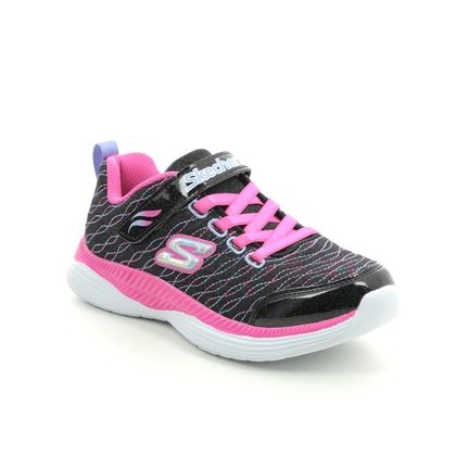 Skechers Girls Trainers - Black - 83017 MOVE N GROOVE