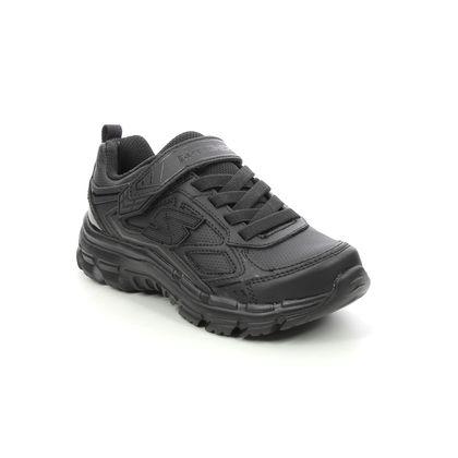 Skechers Boys Trainers - Black - 95357L NITRATE MICROBLAST