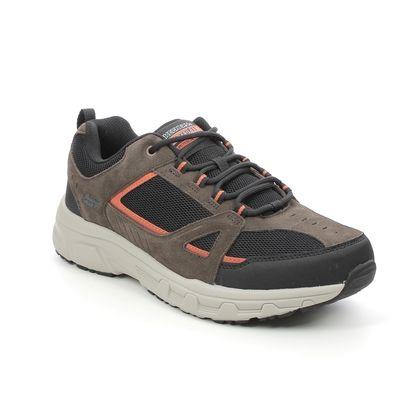 Skechers Trainers - Chocolate Brown Black - 237285 OAK CANYON 5189