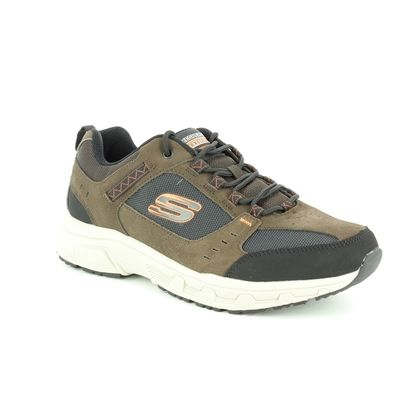 Skechers Trainers - Charcoal - 51893 OAK CANYON RELAXED FIT