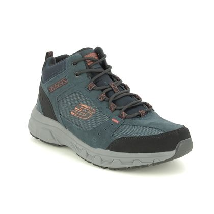 Skechers Outdoor Walking Boots - Navy - 51895 OAK CANYON BOOT RELAXED FIT