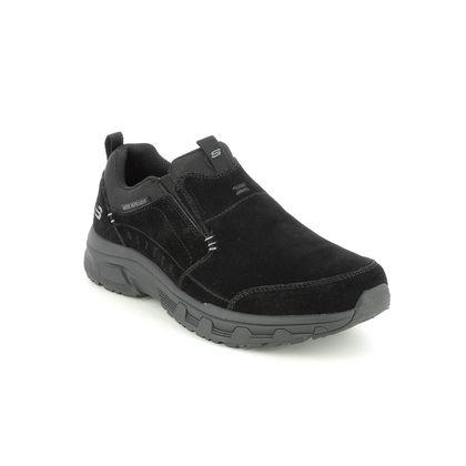 Skechers Slip-on Shoes - Black - 237282 OAK CANYON SLIP ON RELAXED