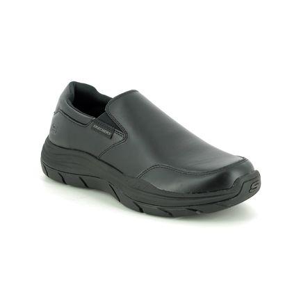 Skechers Slip-on Shoes - Black - 66416 OLEGO EXPECTED RELAXED