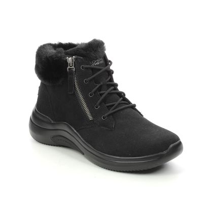 Skechers Lace Up Boots - Black - 144267 ON THE GO LACE