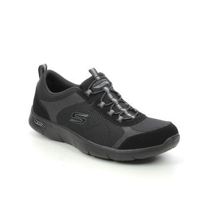 Skechers Trainers - Black - 104092 REFINE ARCH FIT