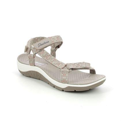 Skechers Walking Sandals - Taupe - 163123 REGGAE CUP