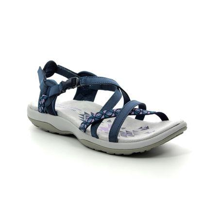 Skechers Walking Sandals - Navy - 40955 REGGAE SLIM VACAY