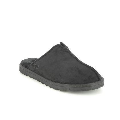 Skechers Slippers & Mules - Black - 66094 RENTEN PALCO RELAXED