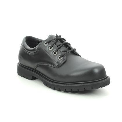 Skechers Casual Shoes - Black - 77041 SAFETY WORK COTTONWOOD SLIP RESISTANT