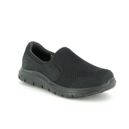 Skechers Trainers - Black - 76580 SAFETY WORK COZARD SLIP RESISTANT
