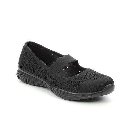 Skechers Mary Jane Shoes - Black - 158081 SEAGER PITCH OU