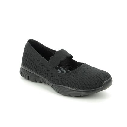 Skechers Mary Jane Shoes - Black - 49622 SEAGER POWER