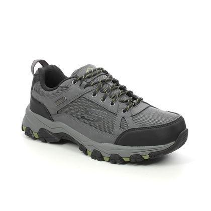 Skechers Walking Shoes - Charcoal - 204427 SELMEN CORMACK RELAXED