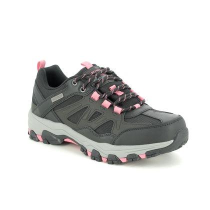 Skechers Walking Shoes - Black Charcoal Grey - 167003 SELMEN WEST RELAXED