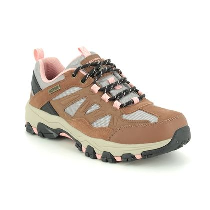Skechers Walking Shoes - Brown Tan - 167003 SELMEN WEST RELAXED