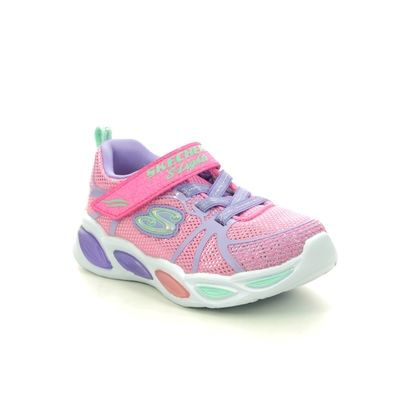 Skechers Girls Trainers - Pink - 302042N SHIMMER BEAMS