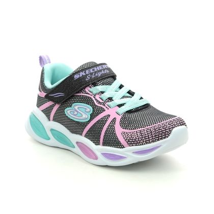 Skechers Girls Trainers - Black - 302042L SHIMMER SPORTY