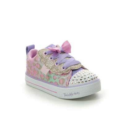 Skechers Girls Trainers - Light pink - 314022N SHUFFLE BOW