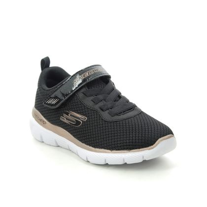 Skechers Girls Trainers - Black gold - 81628L SKECH APPEAL 3