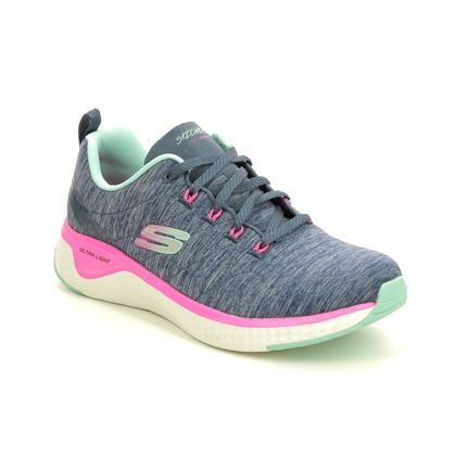 Skechers Trainers - Navy - 149026 SOLAR FUSE LACE