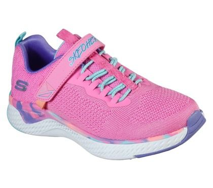 Skechers Girls Trainers - Pink - 302041L SOLAR FUSE PAINT POWER