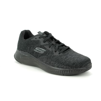 Skechers Trainers - Black - 52758    SOLAR KRYZIK