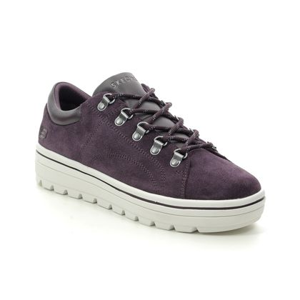 Skechers Trainers - Plum - 74107 STREET CLEATS