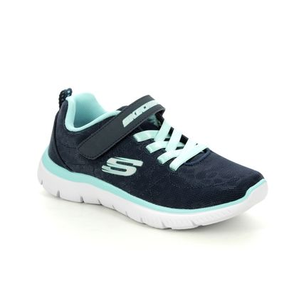 Skechers Girls Trainers - Navy - 302072L SUMMITS JNR