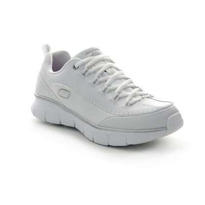 Skechers Trainers - White-silver - 13260 SYNERGY 3.0
