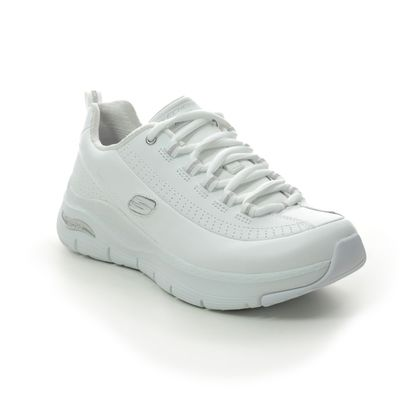 Skechers Trainers - White-silver - 149146 SYNERGY ARCHFIT