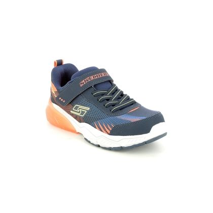 Skechers Boys Trainers - Navy - 403728L THERMOFLUX 2.0