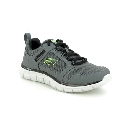 Skechers Trainers - Grey - 232001 TRACK KNOCKHILL
