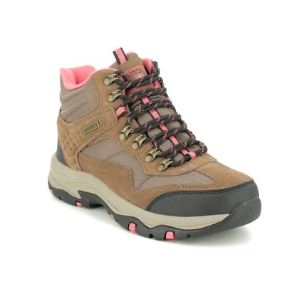 Skechers Walking Boots - Tan - 167008 TREGO BASE CAMP