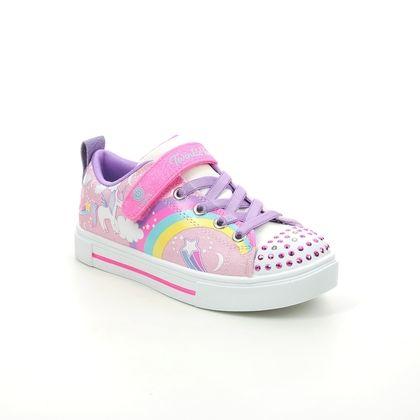 Skechers Girls Trainers - Light pink - 314789L TWINKLE UNICORN