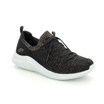 Skechers Trainers - Black gold - 13357 ULTRA FLEX 2.0