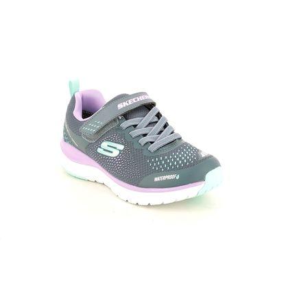 Skechers Girls Trainers - Grey - 302393L ULTRA HYDRO TEX