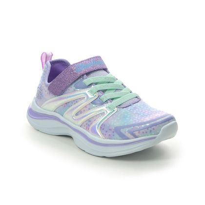 Skechers Girls Trainers - Violet blue - 81421L UNICORN WISHES