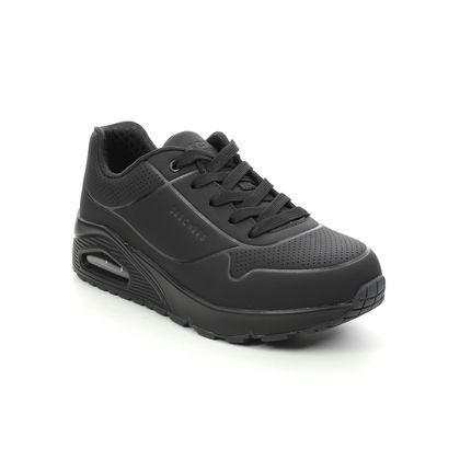 Skechers Boys Trainers - Black - 403674L UNO STAND AIR JNR