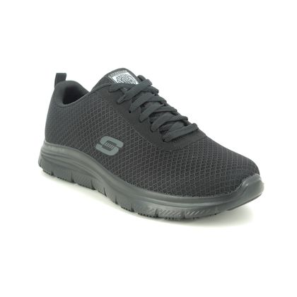 Skechers Trainers - Black - 77125EC WORK ADVANTAGE SLIP RESISTANT