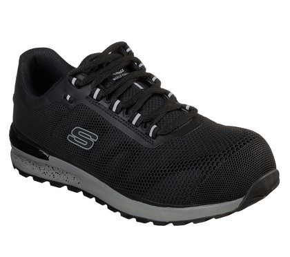 Skechers Trainers - Black - 77180EC WORK BULKLIN