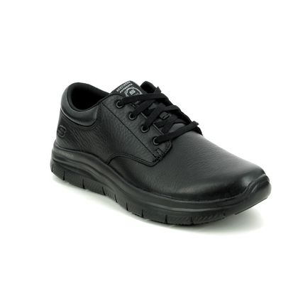 Skechers Casual Shoes - Black - 77513EC WORK SLIP RESISTANT FOURCHE